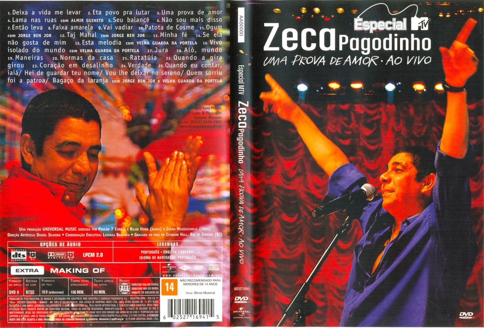 ZECA 2012 GRATIS PAGODINHO BAIXAR DVD